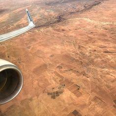 Hello Afrika!  #afrika #ryanair #flight #aircraft #travel #earth #happyday #new #curious #color #warm #brown
