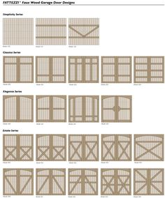 houses with foux wood garage doors   Ackue Fatezzi carriage house style composite faux wood garage doors ...
