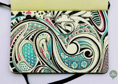 moleskine art | Moleskine Art: 3D and Patterned Doodles by Lex Wilson (9 Pictures)