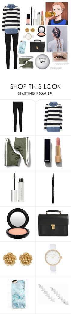 """Fem Morisuke yaku"" by gglloyd ❤ liked on Polyvore featuring Yves Saint Laurent, Dorothy Perkins, Keds, Chanel, Givenchy, MAC Cosmetics, Miriam Haskell, River Island, Casetify and Pieces"