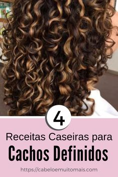Cachos Definidos Want your curls set step by step? Learn here how to make your curls set. You can choose for your curly hair: defined and voluminous curls and defined curls without volume. Natural Hair Care, Natural Hair Styles, Long Hair Styles, Work Hairstyles, Curled Hairstyles, Asian Hair Highlights, Dyed Curly Hair, Girl Hair Colors, Hair Care Recipes