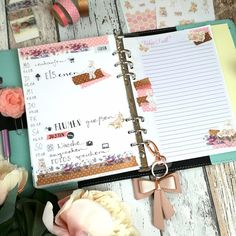 Creative Pages by amaryllis775: Filofaxing / VintageStickerDream
