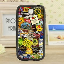Beer Labels fashion cell phone case cover for Samsung galaxy S3 S4 S5 S6 note 2 note 3 note 4