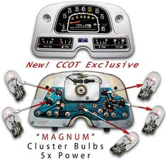 Dash Cluster Bulbs
