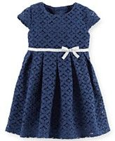 Carter's Baby Girls' Cap-Sleeve Lace Dress....Ohhh the cuteness!