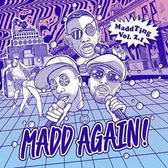 Madd Again! - the crew of Zed Bias and MCs Trigga, Killa Benz and Specialist Moss -- announce a new MaddTing EP on Swing Ting. Twist Outs, Drawing S, Scary, Hilarious, Stripes, Relationship, Creative, Happy, Artist