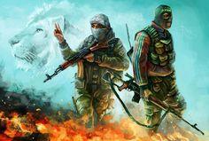 Arab terrorists