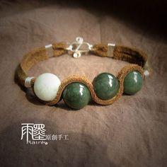 Leather bracelet. IDEA