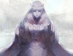 The Ice Queen by chuwenjie.deviantart.com on @DeviantArt