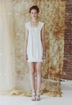 great white dress!