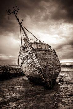 Pim Mill Wreck - Wreck in River Orwell, Suffolk