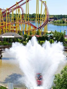 Muskegon, Michigan: Michigan's Adventure  Michigan's largest amusement and water park features more than 60 rides and attractions, including seven roller coasters and more than a dozen water slides. It also offers one of the most reasonable ticket prices for such a big park (231/766-3377; miadventure.com).