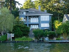 2896 Lakeview Blvd, Lake Oswego OR 97035 - Photo 1 Hillsboro Oregon, Lake Oswego, Lake View, Mansions, House Styles, Home Decor, Decoration Home, Manor Houses, Room Decor