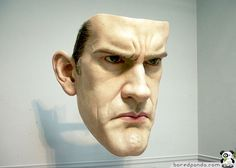 Hyper-realistic Sculptures by Ron Mueck: Mask