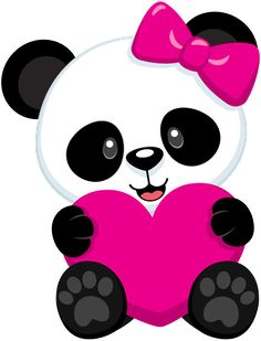 Ckren uploaded this image to 'Animales/Osos Panda'. See the album on Ph… Ckren hat dieses Bild auf & # Animales / Osos Panda & # hochgeladen. Panda Wallpapers, Cute Cartoon Wallpapers, Panda Icon, Panda Bebe, Panda Birthday, Panda Party, Cute Drawings, Hello Kitty, Minnie Mouse