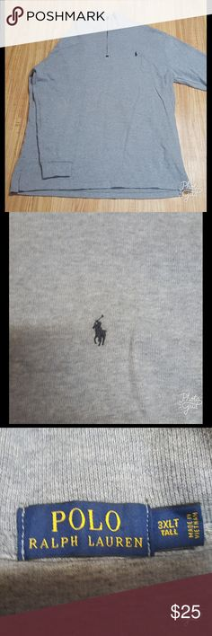 POLO Knit Pullover Sweater Never been worn pull over sweater. My husband got this sweater but for some reason never wore it and now with his weight loss cant wear it. Its a 3xl for big and tall guys. Enjoy! Polo by Ralph Lauren Sweaters Zip Up