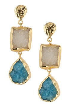 Bansri | Kareena Triple Drop Earrings | HauteLook