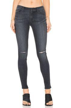 BLACK ORCHID Jude Mid Rise Super Skinny Jeans Knee Rip Carbon Grey 27 $190 #185 #BlackOrchid #SlimSkinny
