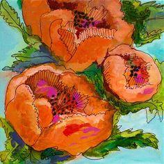 "Daily Paintworks - ""Poppy Love"" - Original Fine Art for Sale - © Taylor Jackson Taylor Jackson, Hipster Art, Acrylic Flowers, Art For Sale, Zentangle, Flower Art, Poppies, Artsy, Fine Art"