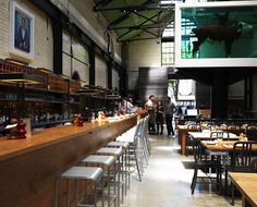 TRAMSHED, SHOREDITCH  Hix and Hirst combine, and produce a truly unique dining room...