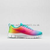 Comfortable Girls Nike Free Express Hyper Jade/Hyper Pink/Volt/Hyper Jade Advanced Customization