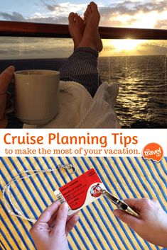 Helpful cruise planning tips so you can make the most of your cruise vacation. From travel and food expert Rachelle Lucas of TheTravelBite.com. ~ http://thetravelbite.com