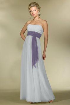 Chiffon A-line,Band,Strapless Style 2976 Bridesmaid Dress by Alexia Designs Bridesmaid Dresses, Prom Dresses, Formal Dresses, Bridesmaids, Chiffon, Gowns, Bridal, Fashion Design, Wedding