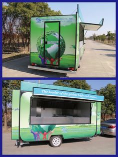 BAOJU FV-55 New model mobile food truck for sale mobile food truck vending food carts for sale