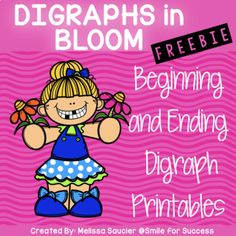 Digraphs FREEBIE! | Printables by Smile For Success | TpT Saxon Phonics, Abc Phonics, Phonics Rules, Teaching Phonics, Kindergarten Language Arts, Kindergarten Reading, Kindergarten Phonics, Preschool, Spelling Activities
