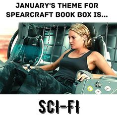 As the last of our December boxes are shipping out today let's get excited about the January box!!!  Our theme for the January #spearcraftbookbox is.... SCI-FI!!!  Tag some friends below  and help spread the word.  The new YA book we've chosen is a science fiction fantasy novel full of political intrigue and adventure. You do not want to miss this book!!  If you're a fan of Science fiction fantasy Divergent or Star Wars then this box is for you!! This box is truely out of this world and you…
