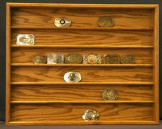 Belt Buckle Display Case