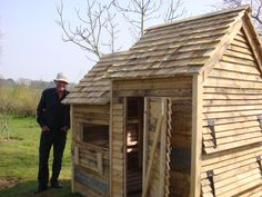 Look what this man did with pallets.