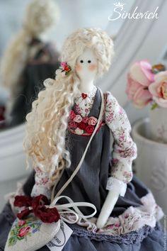 Купить Симона - тильда, кукла Тильда, кукла ручной работы, кукла интерьерная, кукла текстильная