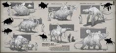ArtStation - Design Iteration for Beast of Burden , Anthony Sixto