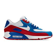 super popular b575e 87d6d Nike Air Max 90 Essential iD Shoe. Nike.com ( 130) ❤ liked on Polyvore  featuring shoes, nike footwear, nike shoes and nike