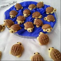 All Time Easy Cake : Turtle Cookies, Cookies Et Biscuits, Cake Cookies, Cute Food, Yummy Food, Cookie Recipes, Dessert Recipes, Easter Recipes, Dog Food Recipes, Dinner Recipes