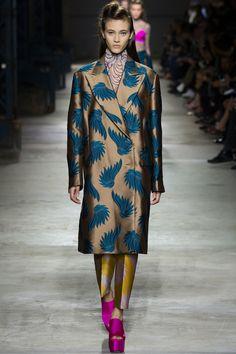 Dries Van Noten Spring 2016 Ready-to-Wear Fashion Show - Mila Ganame
