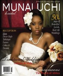 Print Edition 1 - Premier Issue http://beautifulbrownbride.blogspot.com/