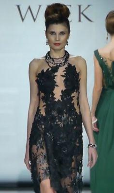 #BlackGown  #Paris  #Couture #mode #EveningGown #HayariParis