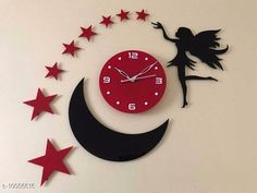 Clocks Trendy Acrylic Wall Clock Material: Plastic Pack: Pack of 1 Country of Origin: India Sizes Available: Free Size   Catalog Rating: ★4.1 (2055)  Catalog Name: Graceful Wall Clocks CatalogID_1798937 C127-SC1440 Code: 094-10056616-5511