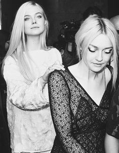 Elle and Dakota Fanning - these girls could be around for a long time