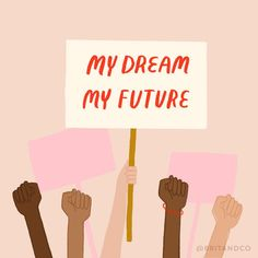 """""""The repeal of DACA is not just a threat to the roughly young people it directly covers. It threatens their families, their… Feminist Quotes, Feminist Art, Mon Combat, Vie Motivation, Women Empowerment, Girl Power, Equality, Just In Case, Illustration"""