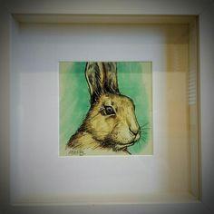 Irish hare 'ink sketch'