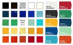 HISTORIC EGYPTIAN PALETTE - Paint colors from Chip It! by Sherwin-Williams