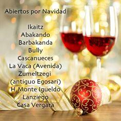 Restaurantes donostiarras, abiertos por Navidad. #Donostia #FelizNavidad Más info: pincha sobre la imagen.