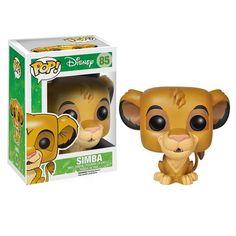 Pop! Movies: Disney Lion King - Simba #85 Vinyl Figure  Manufacturer: Funko LLC Enarxis Code: 012884 #toys #figures #Simba #Lion_King #Disney