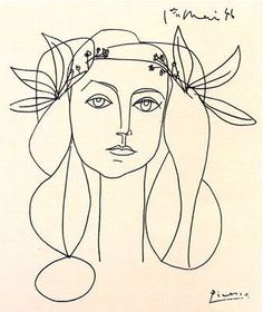 Picasso´s Muse...   Next tattoo??  Picasso is one of my favorite artists!