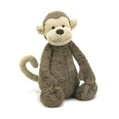 "Jellycat Bashful Monkey Large 15"""""