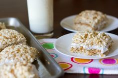 Fluffernutter Rice Krispy Treats