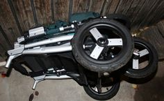 Open Air Life blog reviews All Terrain Stroller: Bumbleride Indie's Compact Fold
